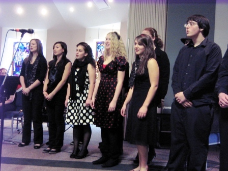 Stelly's Musical Theatre performs for Seniors