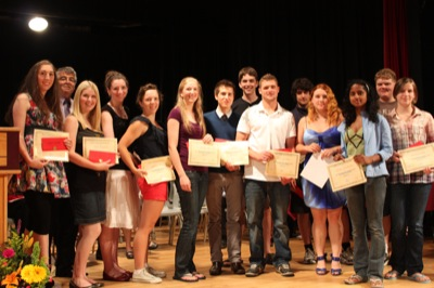 Sr. Outstanding Service Award Winners
