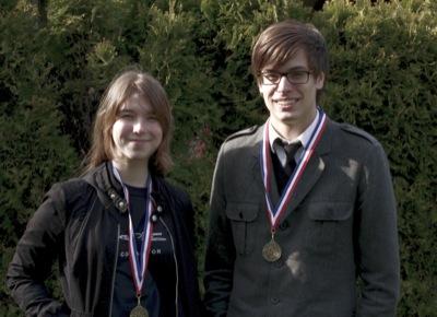 Cory and Lauren