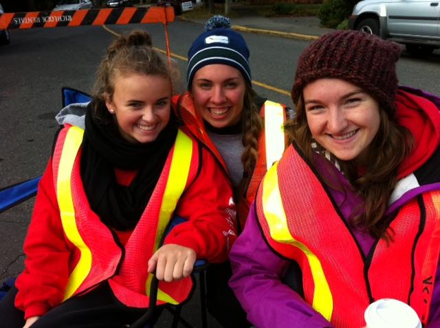 Victoria Marathon Volunteers