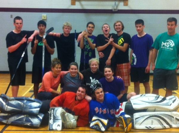 Sr. Road Hockey Champs