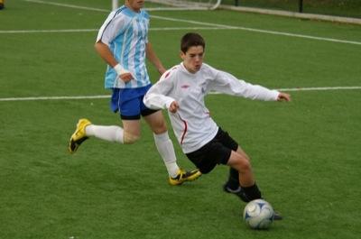 Sr. Boys Soccer vs. Lambrick