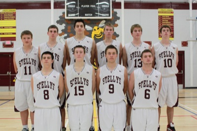 Sr. Boys Basketball Team
