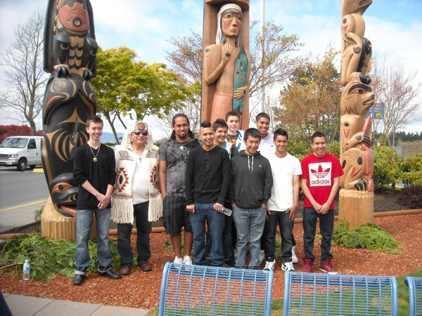 Totem Pole Unveiling