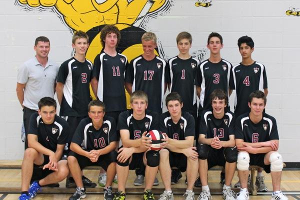 Sr. Boys Volleyball 2011
