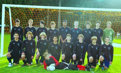 Jr. Boys Soccer Team