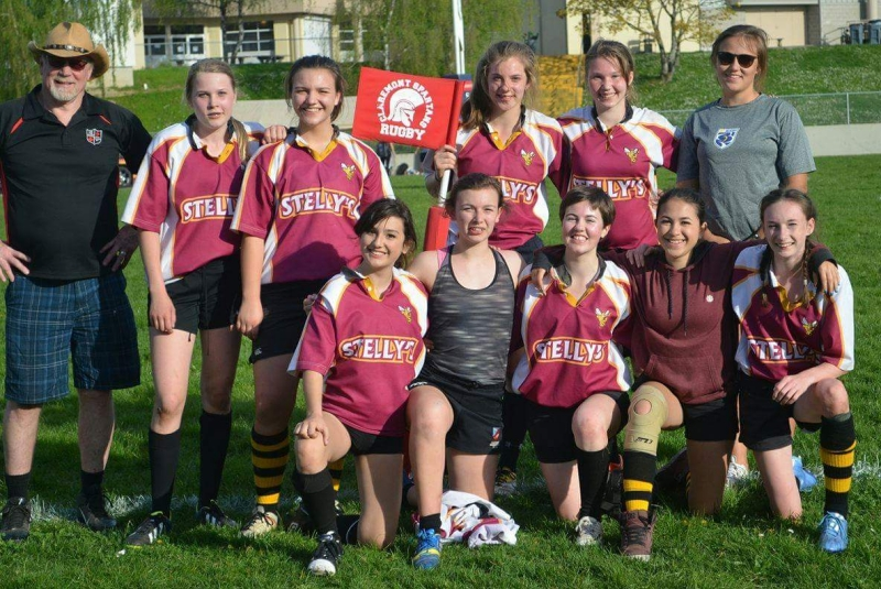 Stelly's Girls at the Claremont Scrumfest