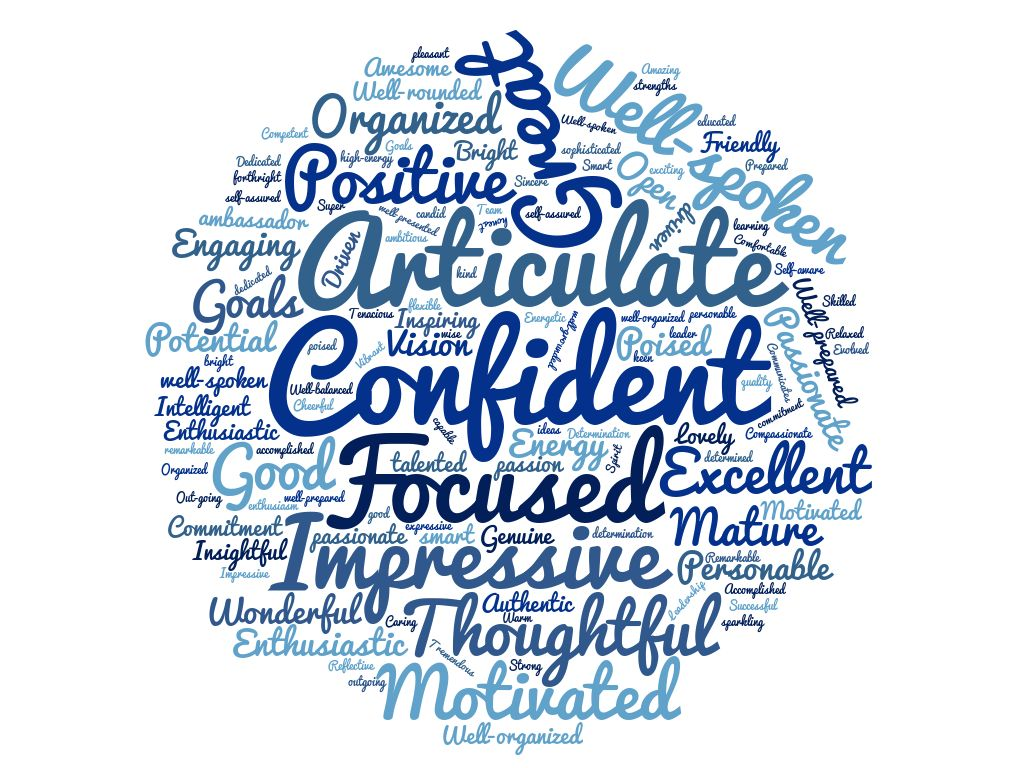 Wordcloud from GT interviews 2016
