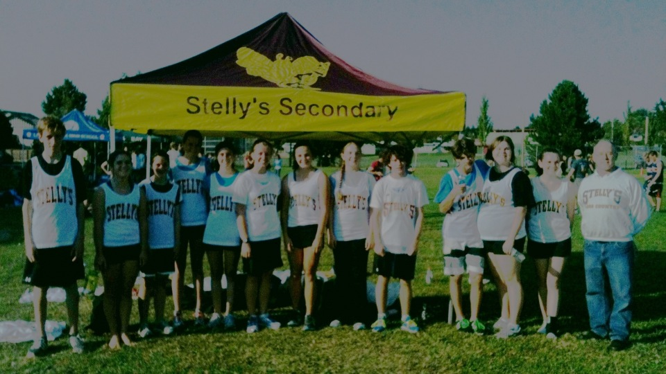 Stelly's Stingers at Lambrick Park Cross Country